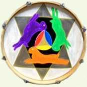 3 Hares Drumhead