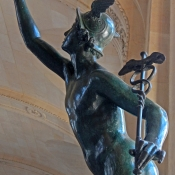 Flying mercury giambologna 1608