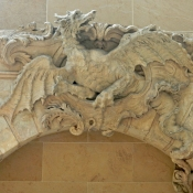dragon Louvre