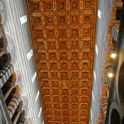 13 pisa cathedral ceiling
