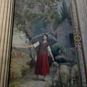 29 pantheon life of joan of arc painting jules-eugene lenepveu 1874