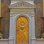 36 magdelene sacred heart gold door