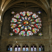 37 st eustache heart rose windows
