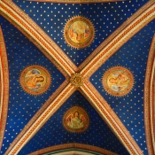 50 saint germain de pres ceiling archangels