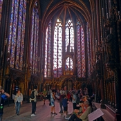 16 sainte-chapelle interior