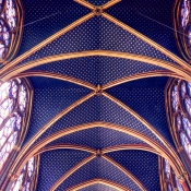 18 sainte-chapelle ceiling