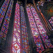 20 sainte-chapelle windows