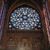31 sainte-chapelle rose window 4