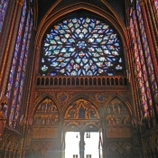 32 sainte-chapelle door inside