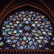 33 sainte-chapelle rose window 3