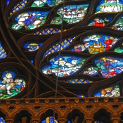 34 sainte-chapelle rose window 1