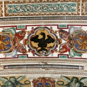 14 vatican ceiling eagle dragons