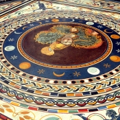 20 vatican floor mosaic moon cycles