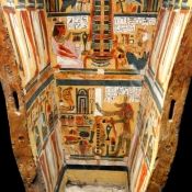9 egyptian coffin vatican